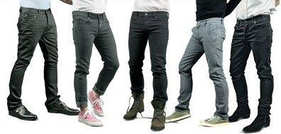 Правильно выбираем обувь под джинсы