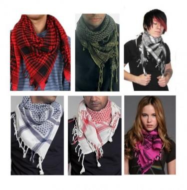 Шарф арафатка: как носить и с чем сочетать