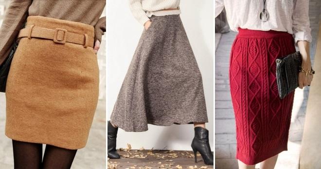 Какой бывает отделка юбки?